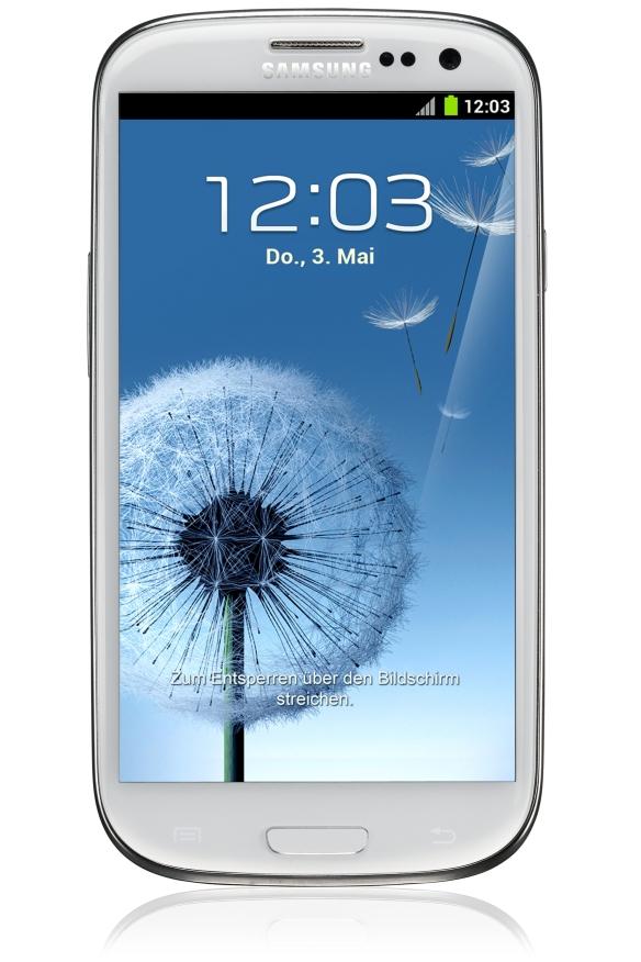 Das Galaxy S3. Quelle: Samsung