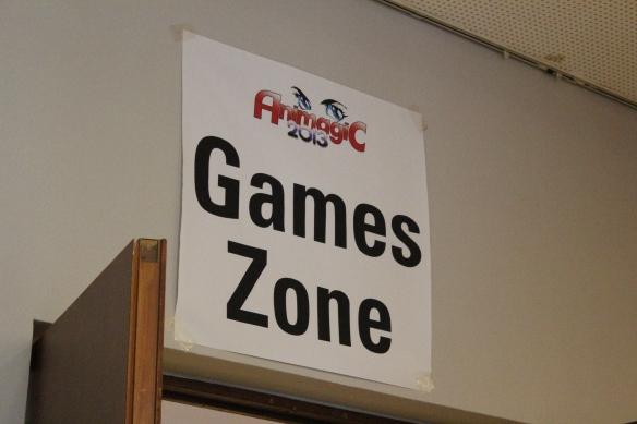 Die Gaming Zone auf der AnimagiC 2013.