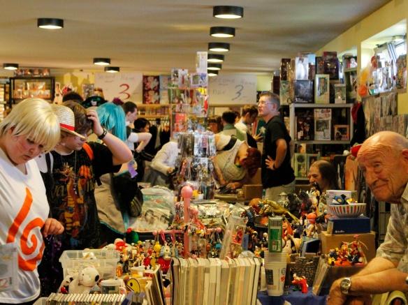 Verkaufsstände auf der AnimagiC.
