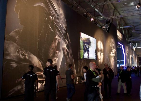 Für das neue Call of Duty wurde wieder ein riesiger Messestand gebaut!