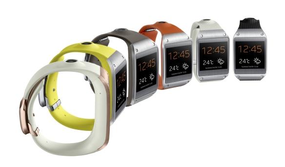 """Samsungs Smartwatch """"Galaxy Gear"""". Quelle: Samsung"""