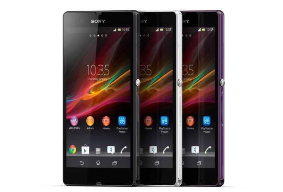 Sonys Xperia Z war das erste Full-HD Handy in Deutschland.  Quelle: Sony