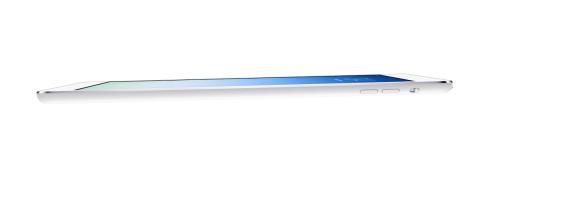 Apples neustes 9,7 Zoll großes iPad ist erstaunlich dünn.