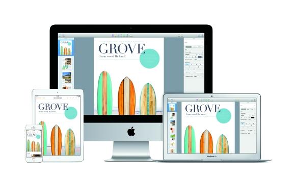 iWork und iLife bieten ein komplett neues Design und sind ab sofort kostenlos mit neuen Geräten verfügbar.