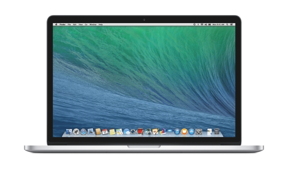 Das 15 Zoll MacBook Pro.