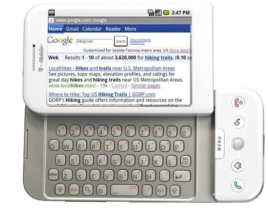 Mit dem G1 begann die unglaubliche Erfolgsgeschichte von Android.