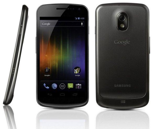 Mit dem Galaxy Nexus stellte Google Android 4.0 Ice Cream Sandwich vor. Quelle: Google
