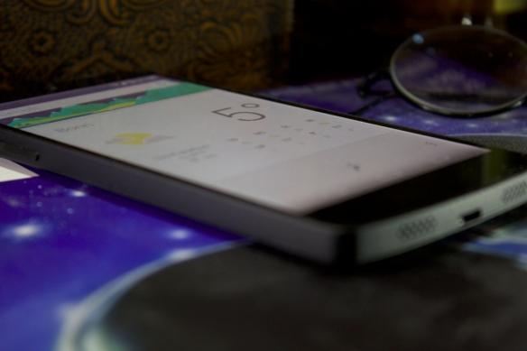 GoogleNow auf einem Nexus 5.