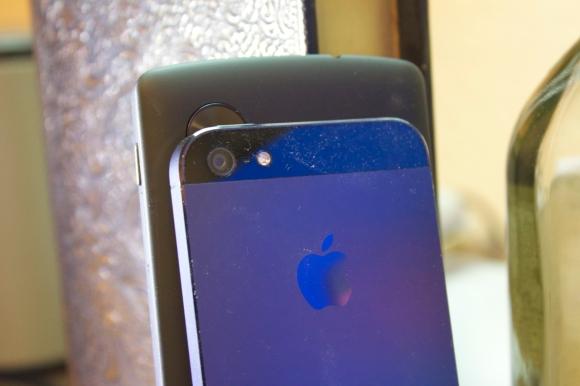 Die Kamera des Nexus 5 ist gut, wird aber sogar vom iPhone 5 geschlagen.