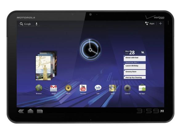 Das Motorola Xoom war das erste Tablet mit Android 3.0 Honeycomb Quelle: Motorola