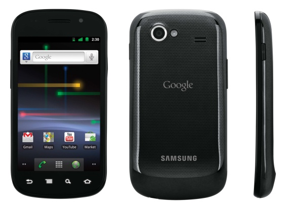 Das Nexus S ist das zweite Nexus und wurde von Samsung gebaut.