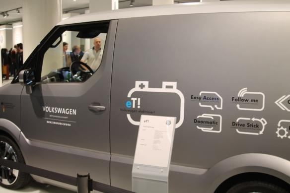 Der eT! soll der Postwagen der Zukunft werden.
