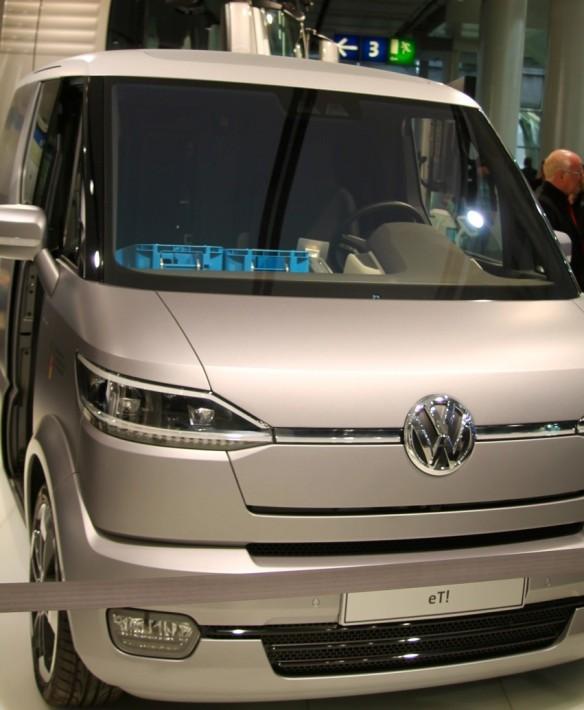 VWs Postauto der Zukunft.  Der eT!