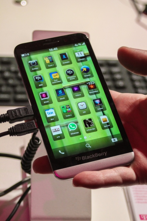Blackberry macht dass, was es am besten kann.