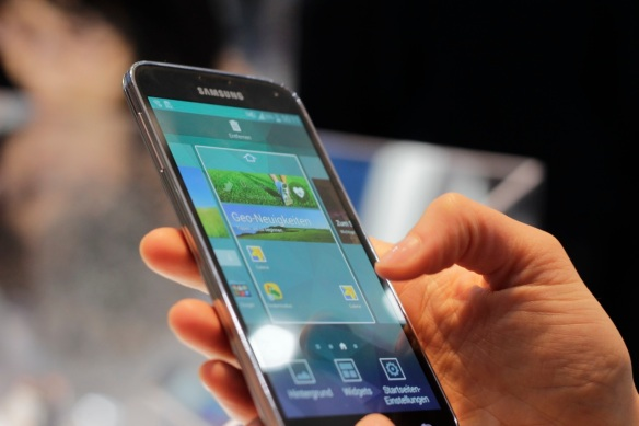 Das Galaxy S5