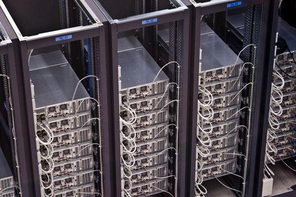 Server im CERN. Quelle: Florian Hirzinger