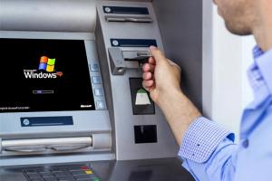 Auch viele Geldautomaten laufen noch unter XP. Quelle: digitaltrends.com