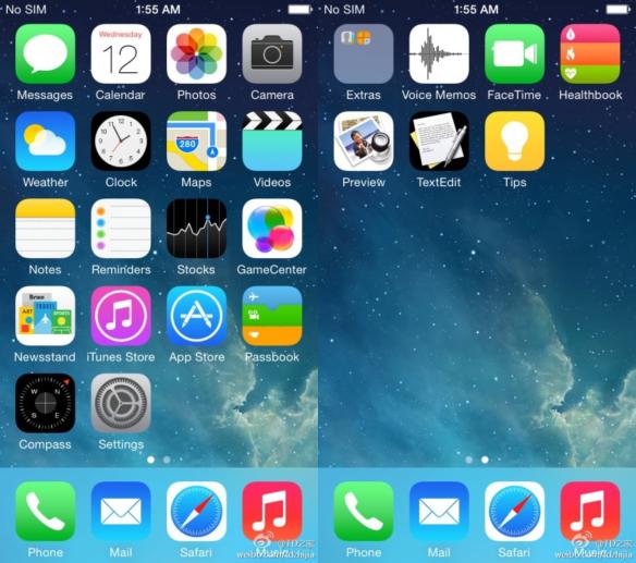 Text Edit und Prview finden vielleicht den Weg auf das iPhone. Bild: Weibo