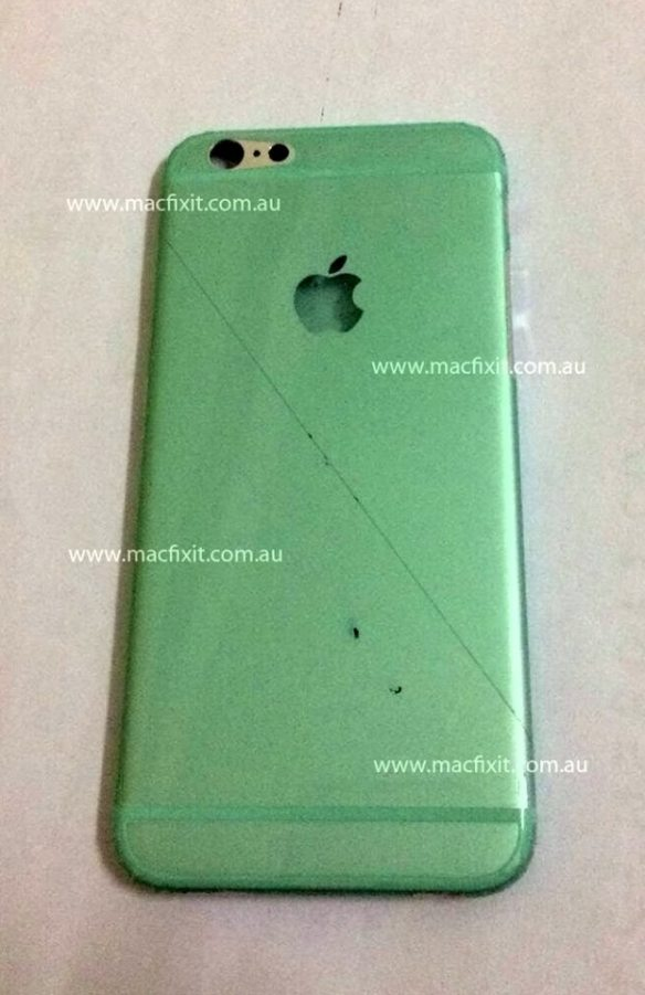 Ist das die Rückseite des neuen iPhone 6? Foto: macfixit.com.au
