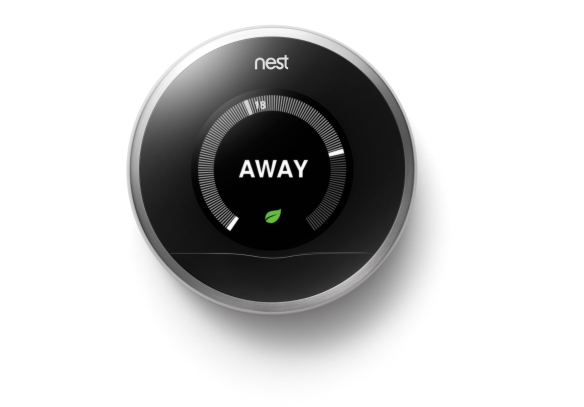 Das Nest-Thermostat. Bild: Google/Nest