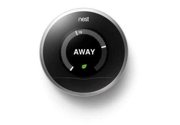 Das Nest-Thermostat. Bild: Google/Nest