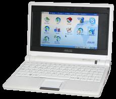 Das erste Netbook. Der Asus EEE-PC Quelle: Asus