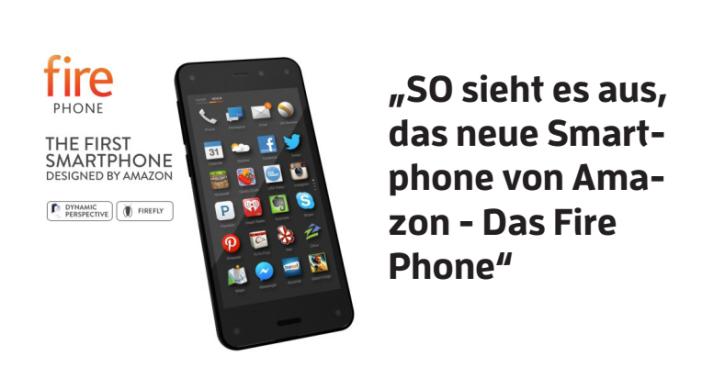 So sieht das neue Smartphone des Internetgiganten Amazon aus