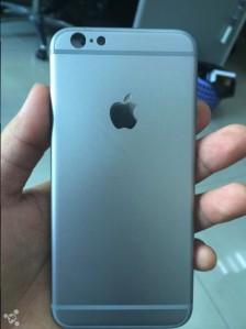 So wird die Rückseite des weißen iPhone 6 aussehen! via: Business Insider Quelle: Feng.com