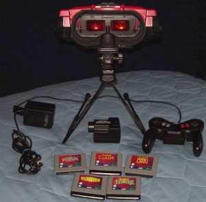 Erste Gehversuche der VR in Videospielen: Der Virtual Boy Quelle: virtualrealityguide.com