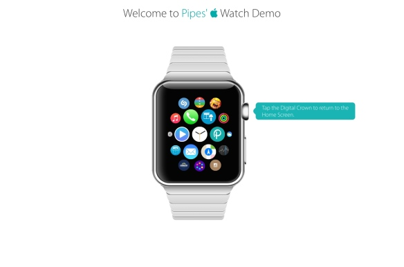 AppleWatch Demo Home