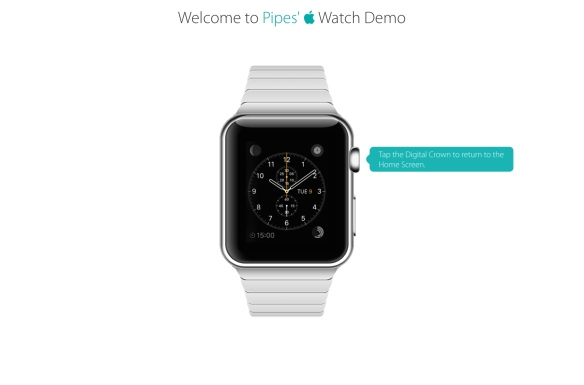 AppleWatch Demo Uhr