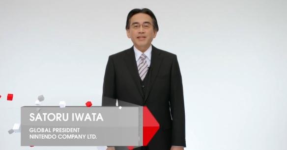 Satoro iwata nintendo