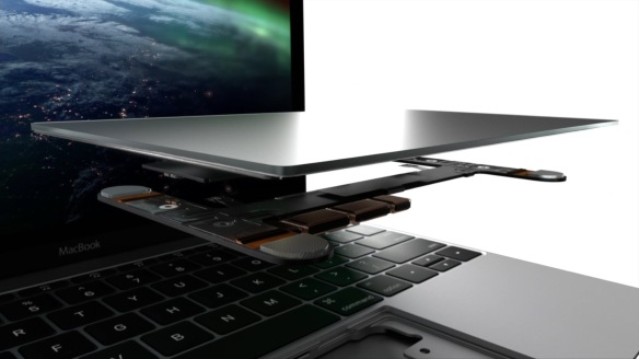 MacBook 2015 - ForceTouch Trackpad