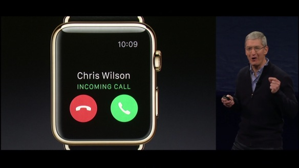 AppleWatch 2015 - Call