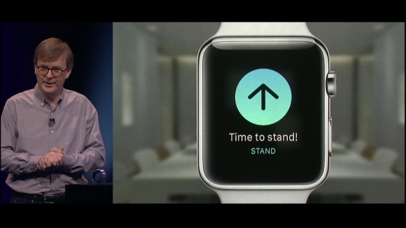 AppleWatch 2015 - Fitness alert
