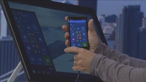 Phone an Bildschirm 2