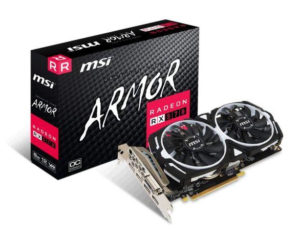 MSI AMD RX 570 Armor